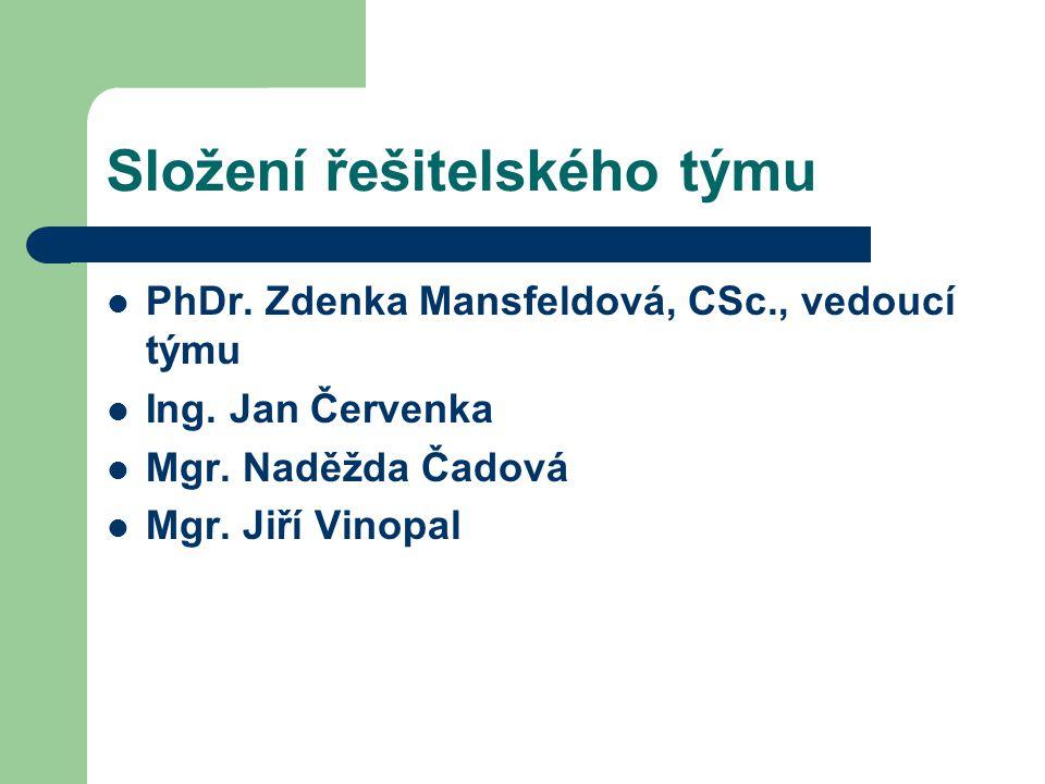 Dosud realizované úkoly SOÚ v projektu: sekundární analýza existujících výzkumů, které se touto problematikou zabývaly nebo se jí dotýkaly; shromáždění dostupných výzkumných nástrojů těchto projektů; zmapování existujících přístupů ke zkoumání problematiky; realizace 2 diskusních skupiny v Brně, jedné s podnikateli z oblasti malého a středního podnikání, druhé s představiteli institucí, které mají regulovat a usměrňovat trh práce; Realizace 20 expertních rozhovorů s představiteli MSP a regulativních institucí.