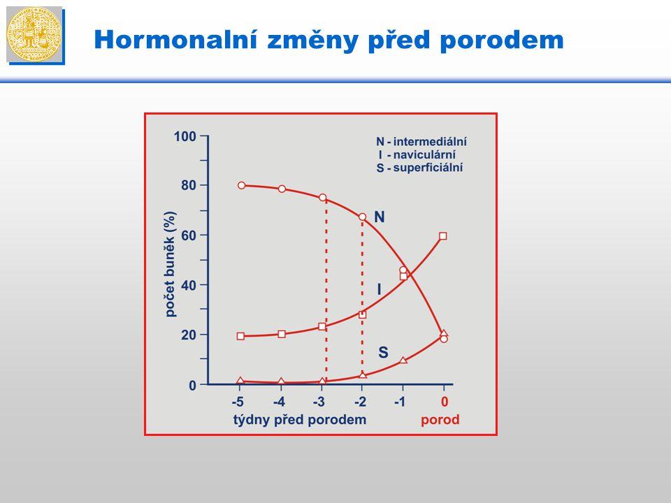Hormonalní změny před porodem