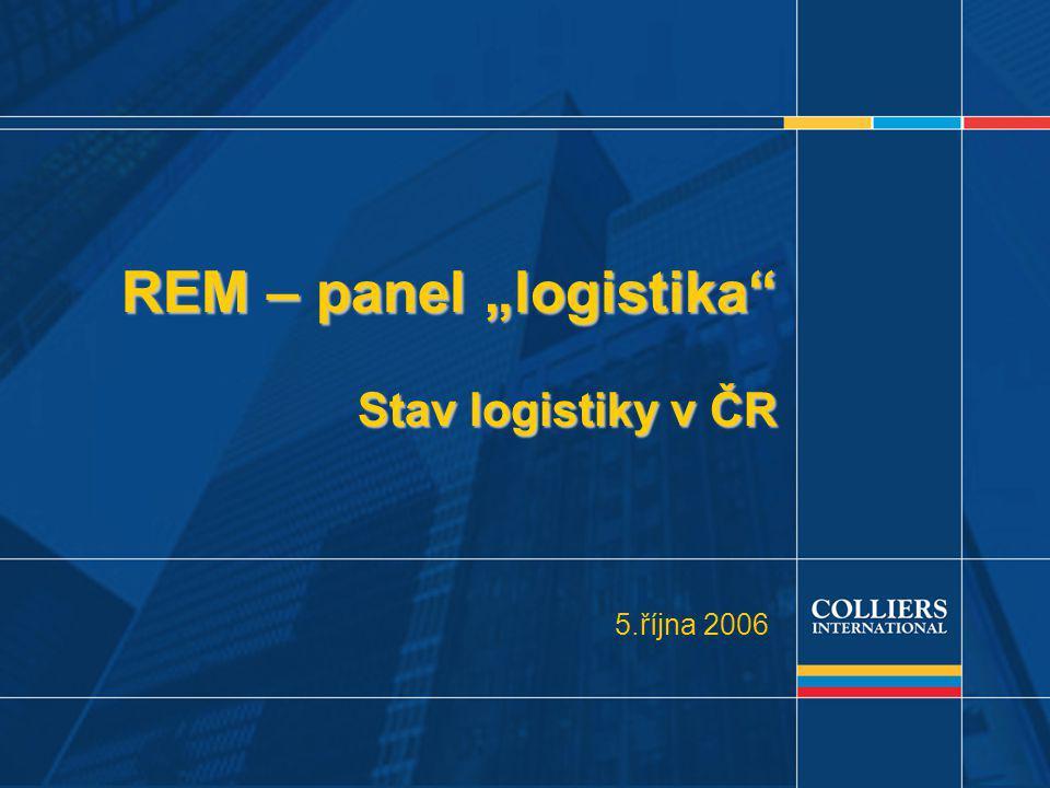 """1 REM – panel """"logistika Stav logistiky v ČR 5.října 2006"""