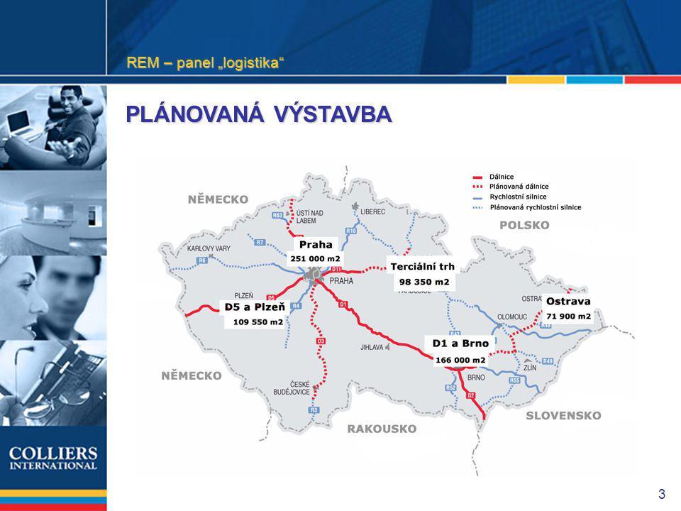 """3 PLÁNOVANÁ VÝSTAVBA REM – panel """"logistika"""