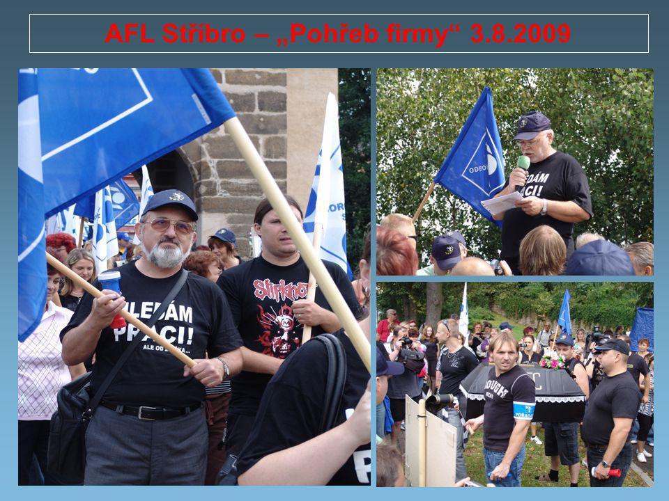 """AFL Stříbro – """"Pohřeb firmy 3.8.2009"""