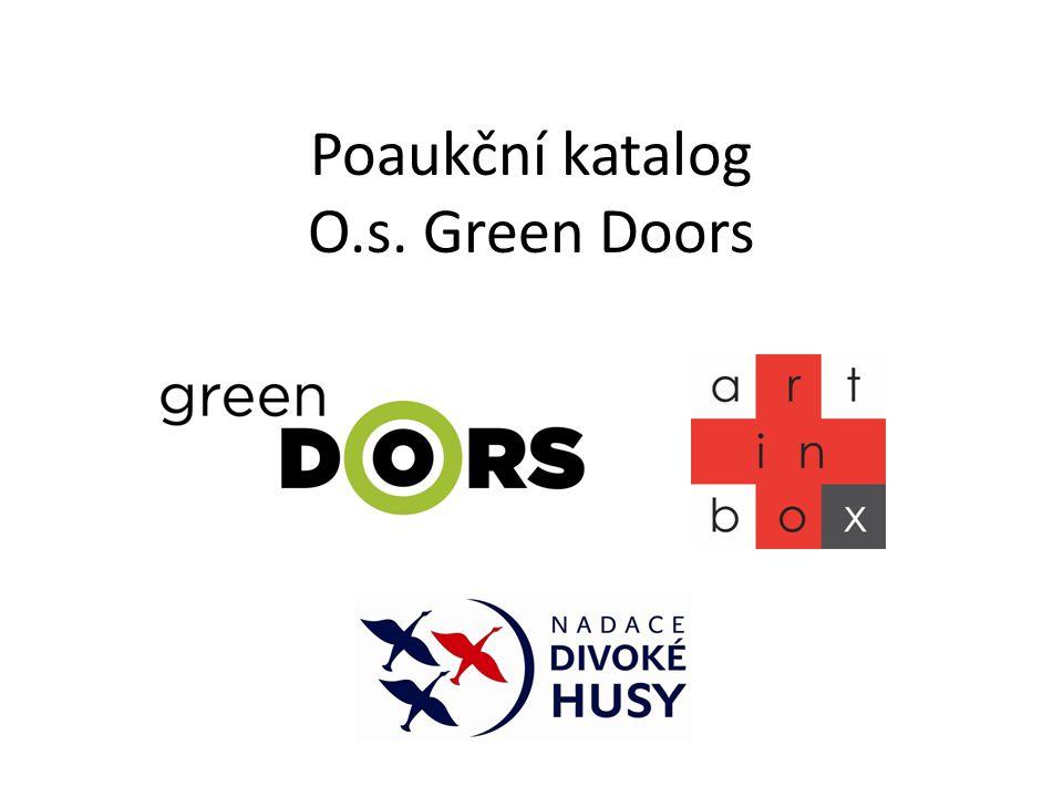 Poaukční katalog O.s. Green Doors