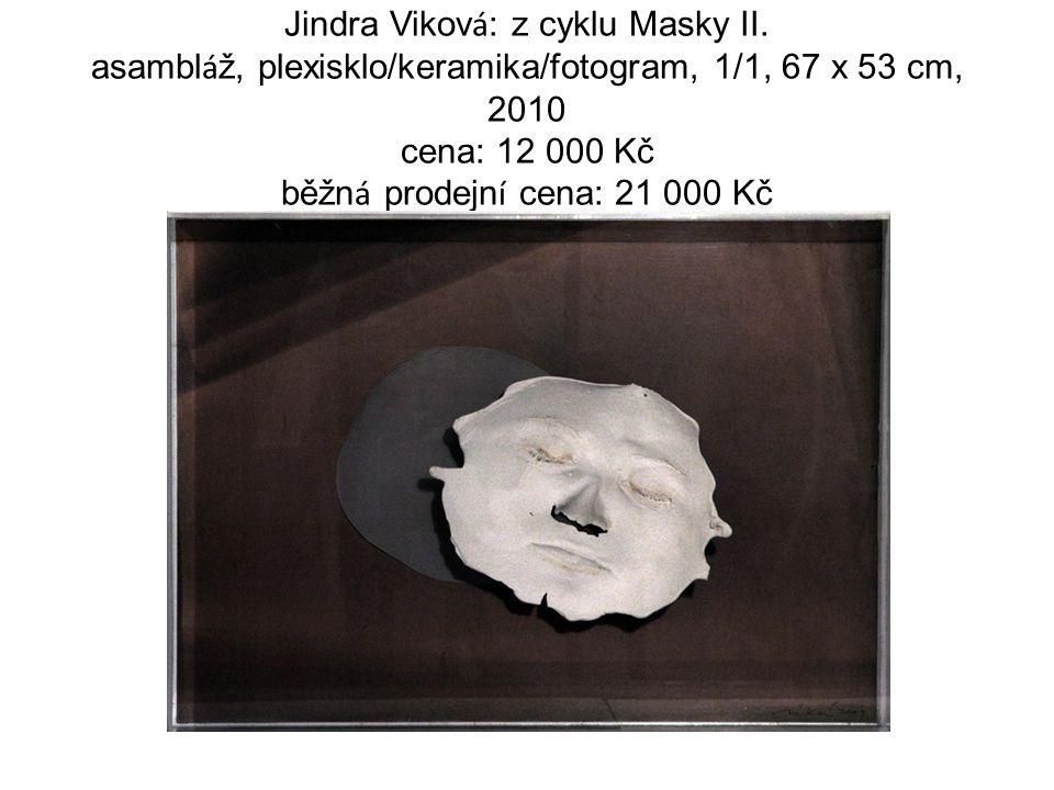 Jindra Vikov á : z cyklu Masky II.