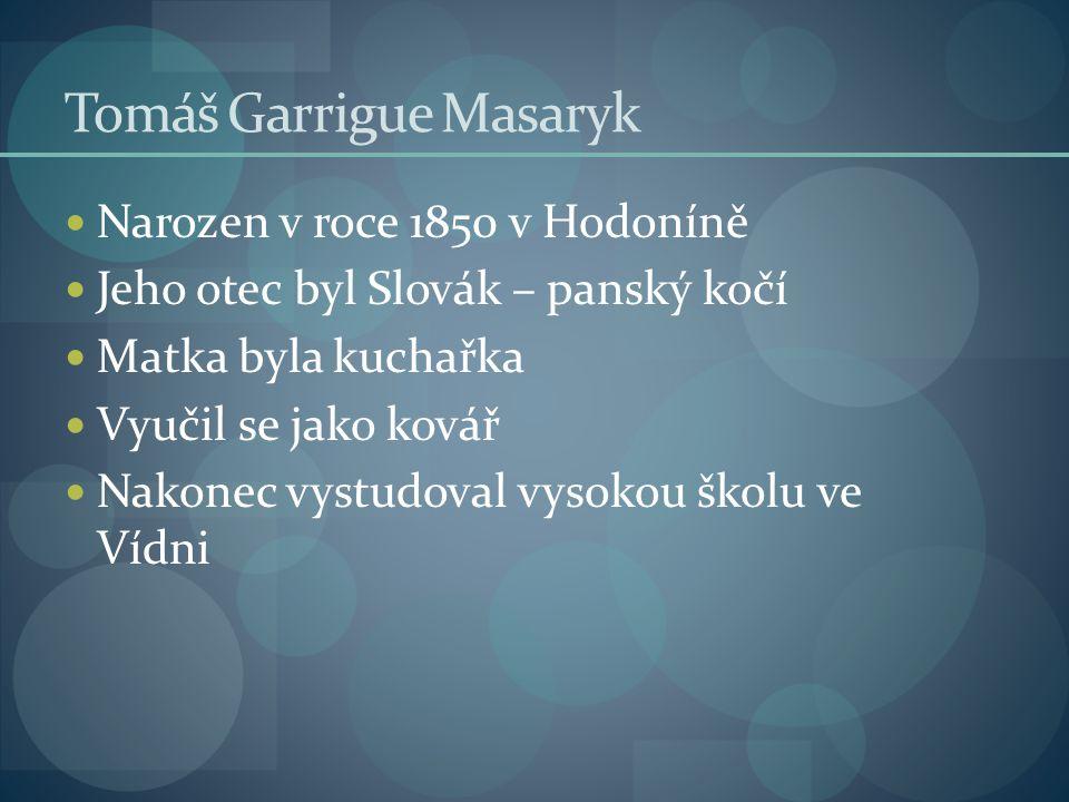 Narozen v roce 1850 v Hodoníně Jeho otec byl Slovák – panský kočí Matka byla kuchařka Vyučil se jako kovář Nakonec vystudoval vysokou školu ve Vídni