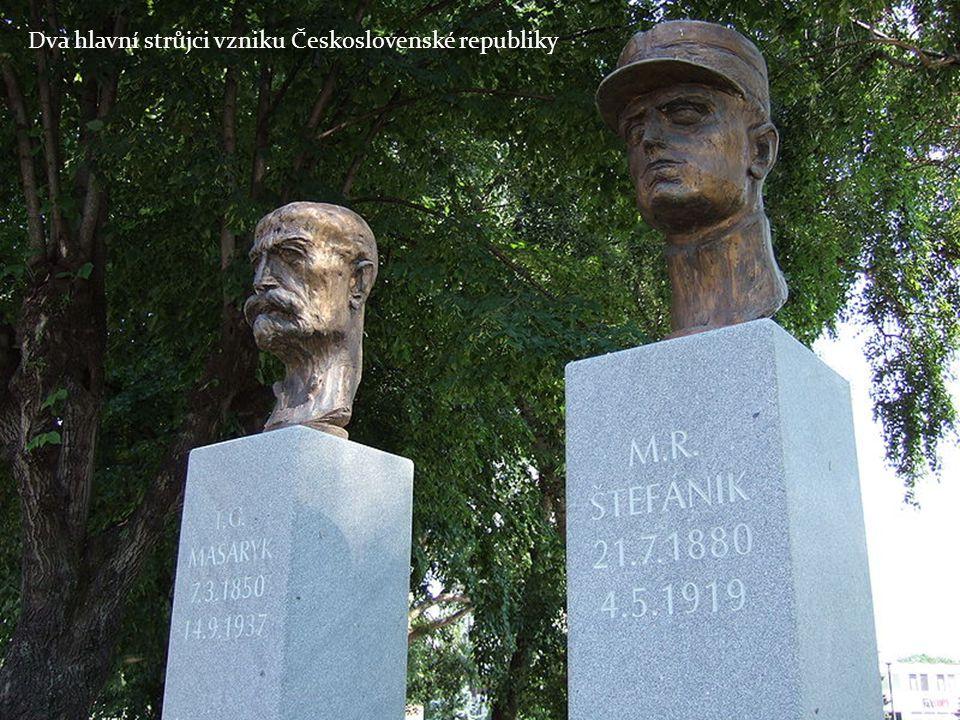 1918 Habsburská monarchie se rozpadá 28.10.1980 vzniká Československá republika TGM se stává prvním prezidentem ČSR Prezidentem je zvolen poté ještě 3x Prezidentem byl v období 14.