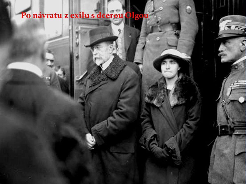1918 Habsburská monarchie se rozpadá 28.10.1980 vzniká Československá republika TGM se stává prvním prezidentem ČSR Prezidentem je zvolen poté ještě 3