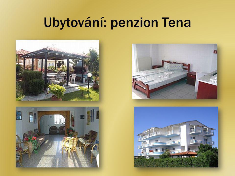 Ubytování: penzion Tena