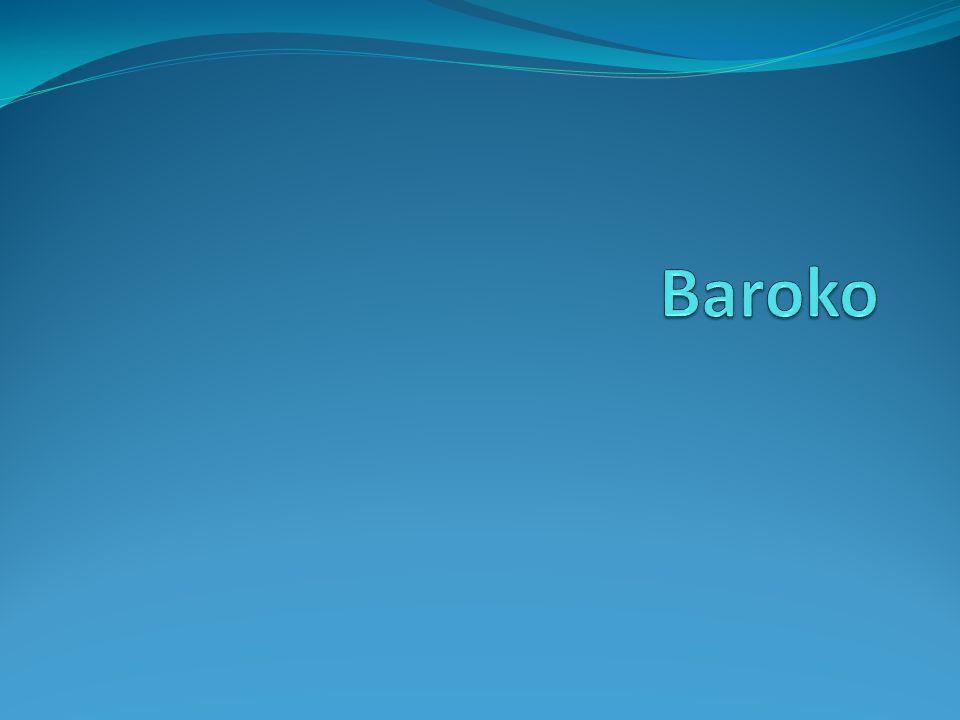 Baroko – 17.a 18.
