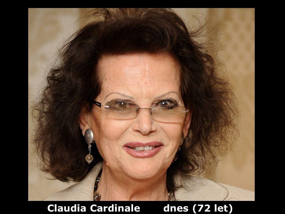 Claudia Cardinale (1939) herečka Dříve