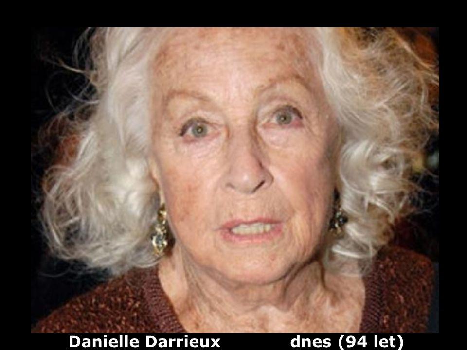 Danielle Darrieux (1917) herečka Dříve