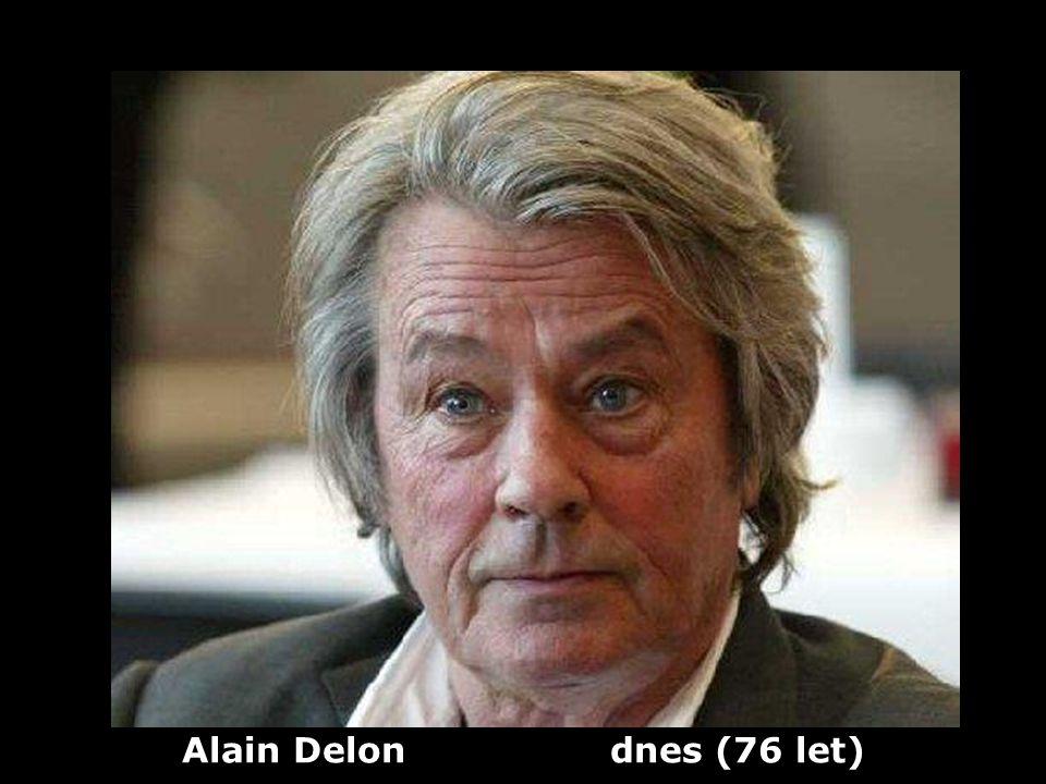 Alain Delon (1935) herec Dříve