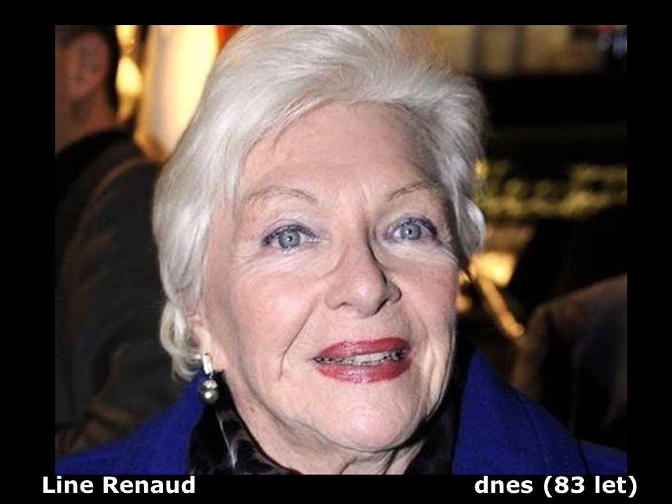 Line Renaud (1928) herečka a zpěvačka Dříve