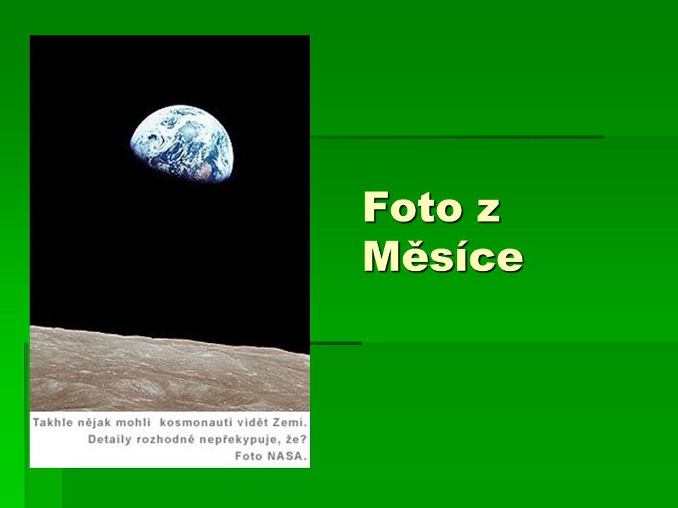 Foto z Měsíce