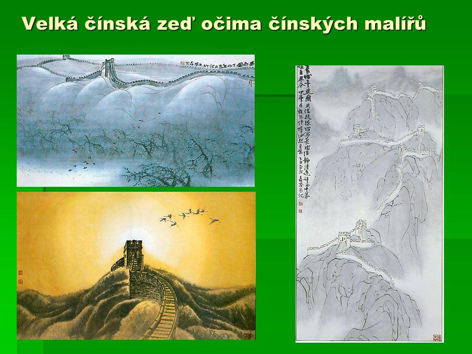Velká čínská zeď očima čínských malířů