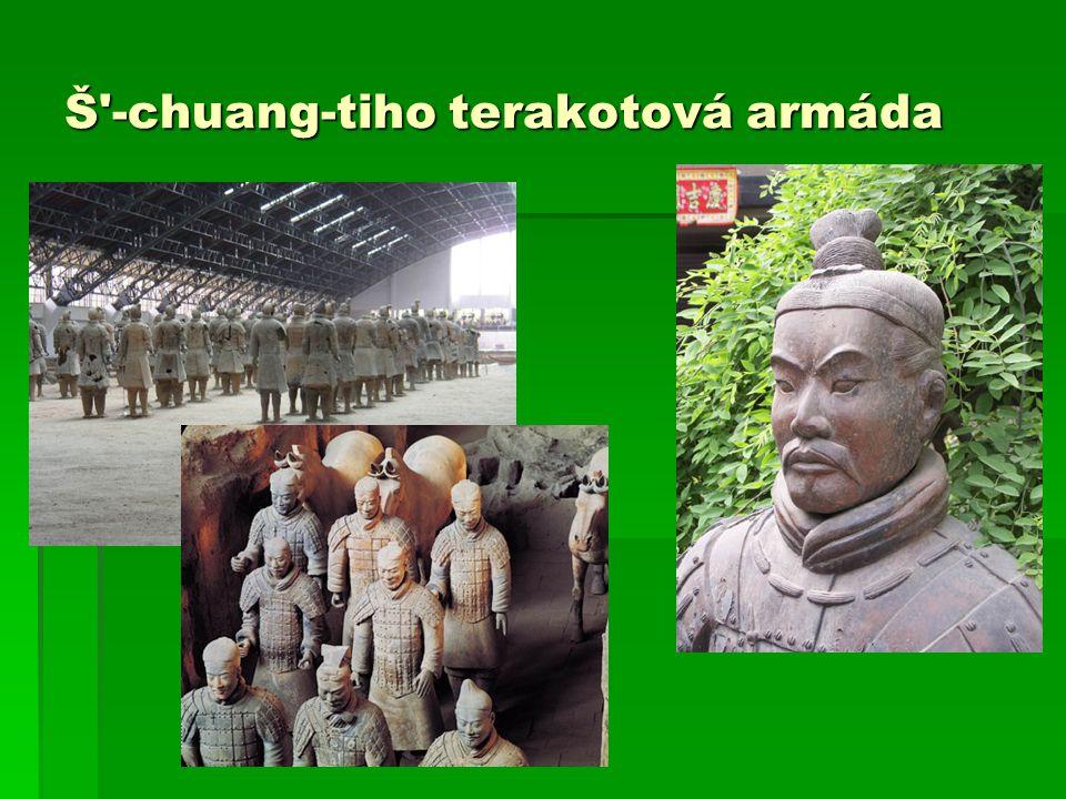 Š'-chuang-tiho terakotová armáda