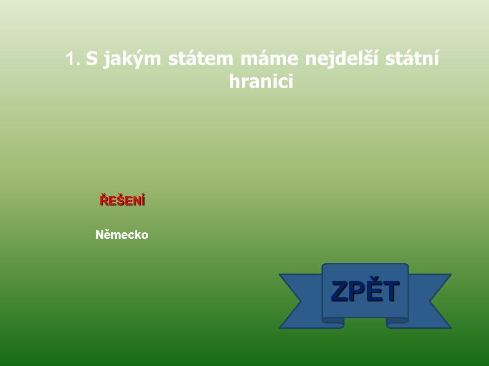 ŘEŠENÍ 28.10. 1918 ZPĚT 2. Napiš přesné datum vzniku Československé republiky ( tzv. 1. republiky )