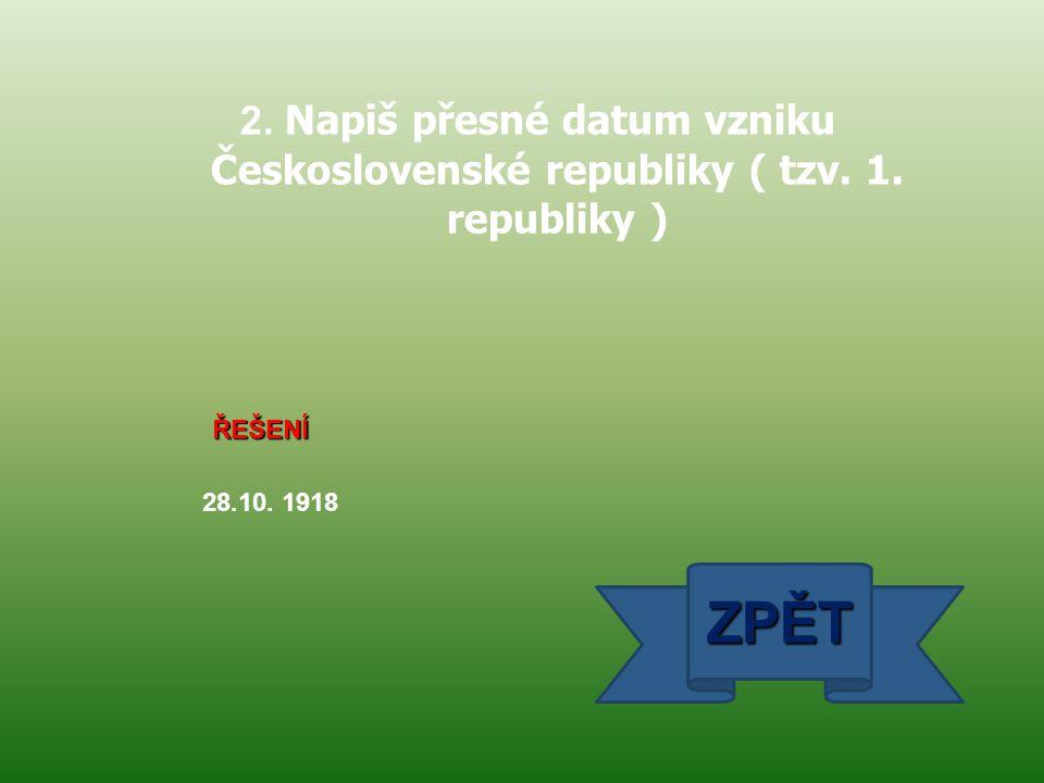 ŘEŠENÍ poproduktivní ZPĚT 13. Jaká skupina lidí nejvíce narůstá v ČR