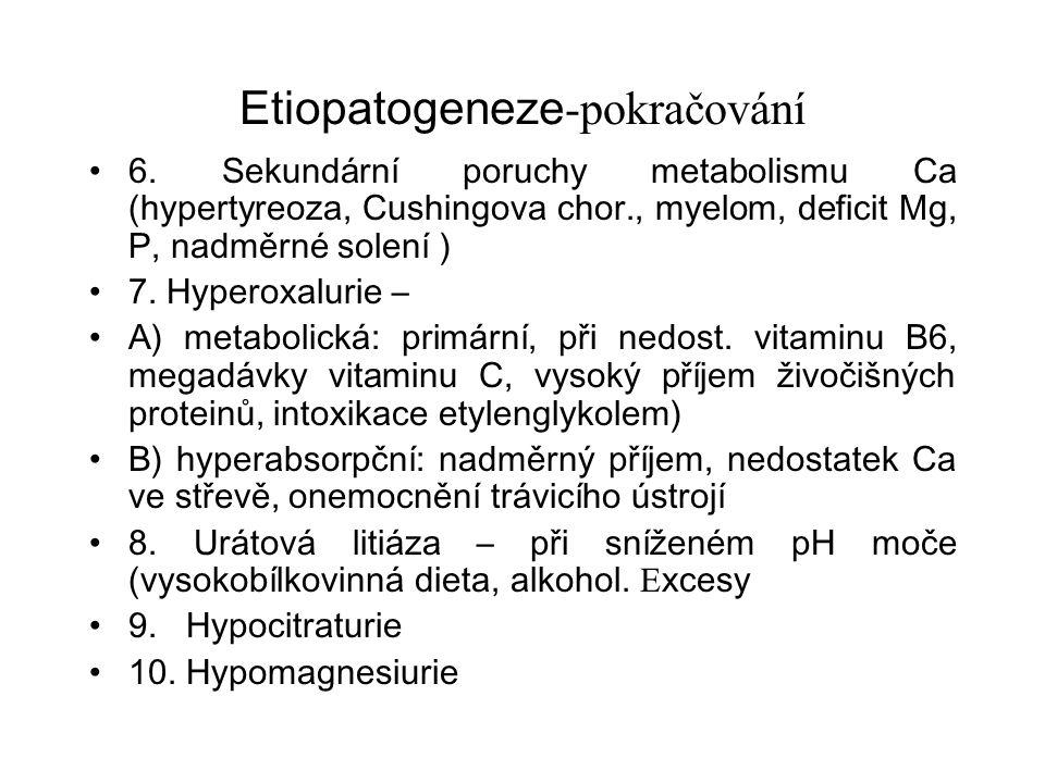 Etiopatogeneze -pokračování 6.