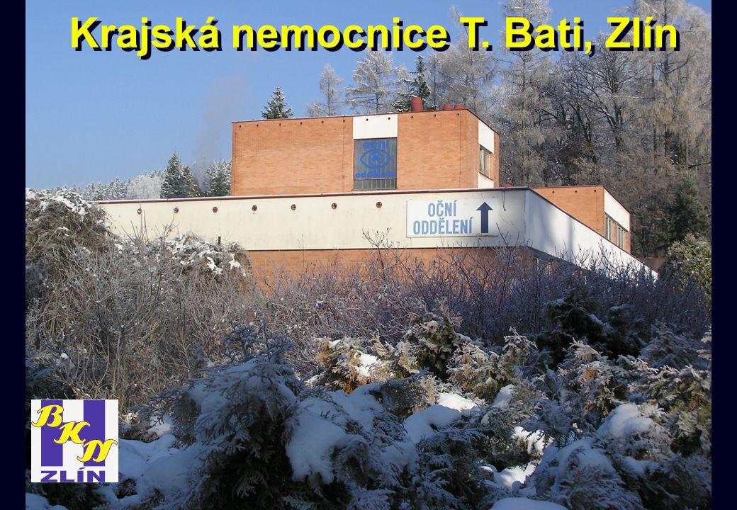Krajská nemocnice T. Bati, Zlín
