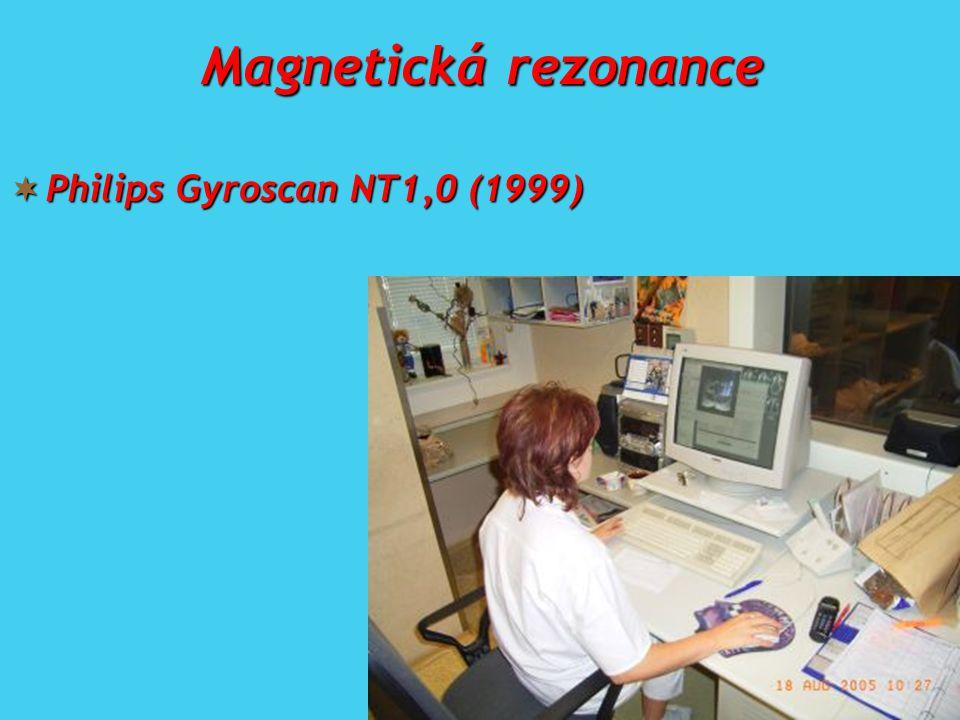 Magnetická rezonance  Philips Gyroscan NT1,0 (1999)