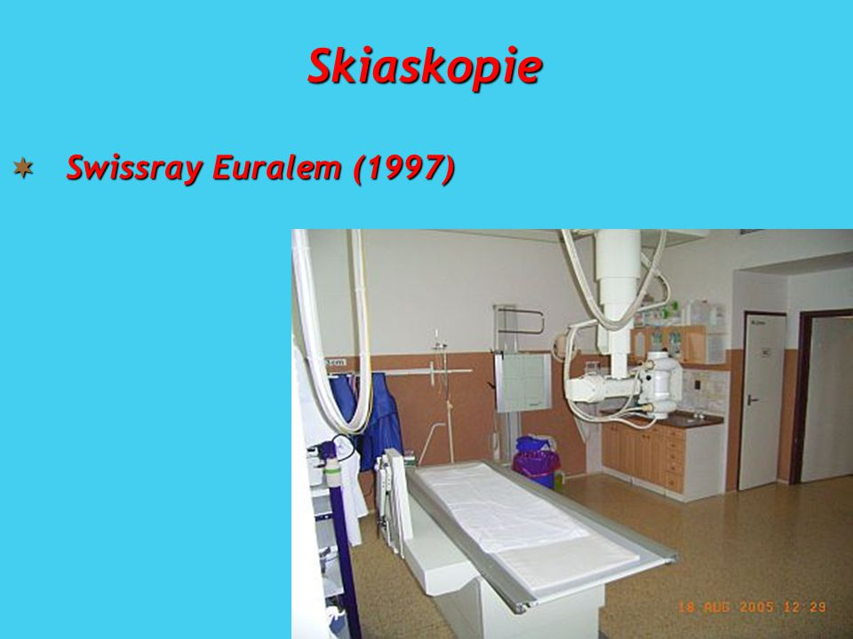 Skiaskopie  Swissray Euralem (1997)