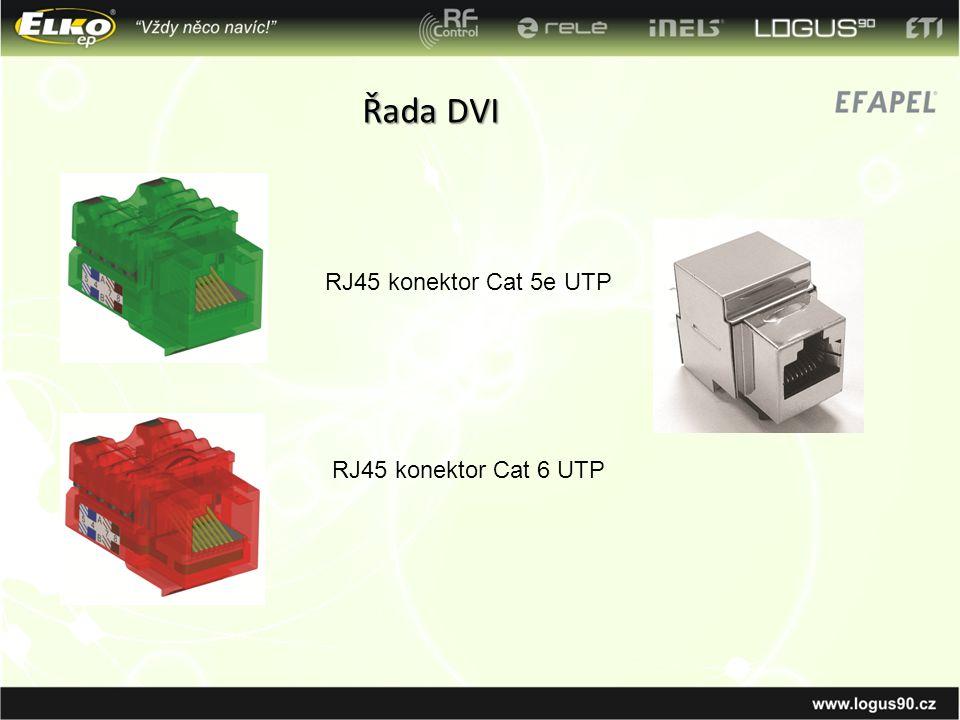 Řada DVI RJ45 konektor Cat 5e UTP RJ45 konektor Cat 6 UTP