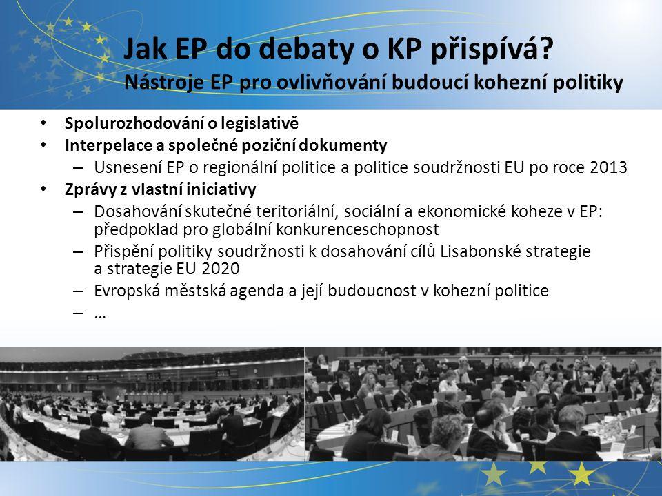 Jak EP do debaty přispívá.