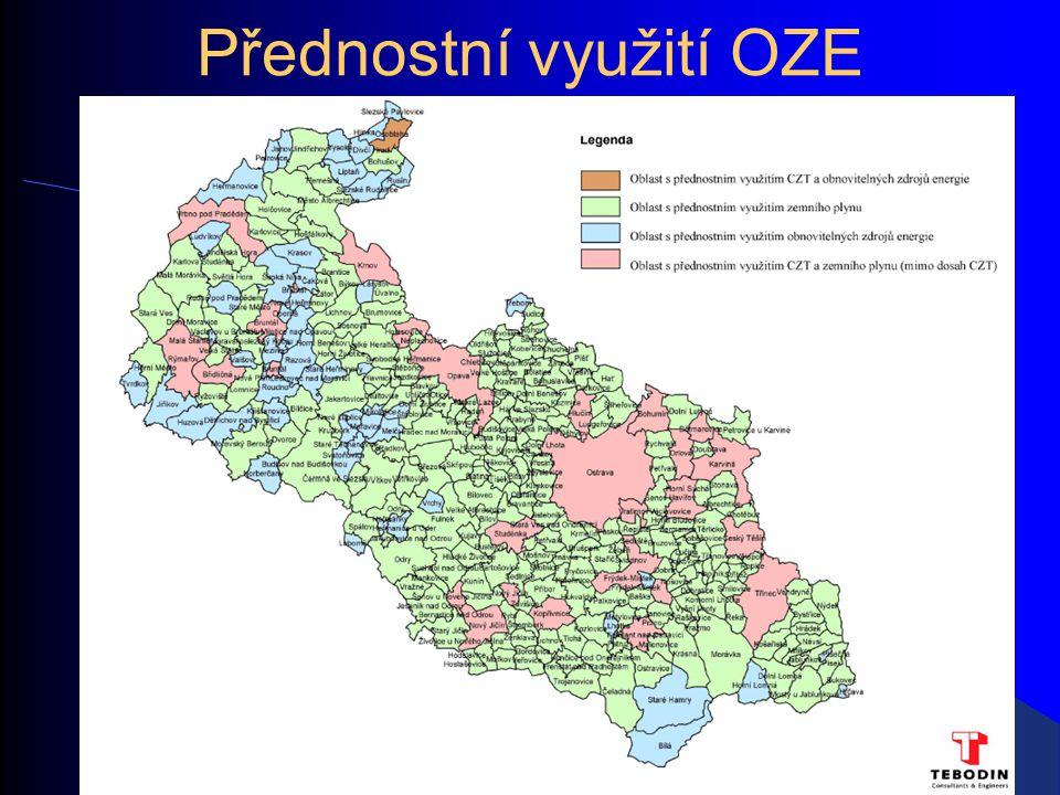 Přednostní využití OZE
