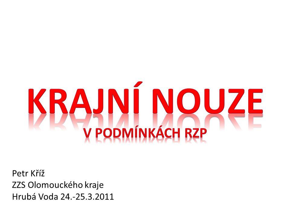Petr Kříž ZZS Olomouckého kraje Hrubá Voda 24.-25.3.2011