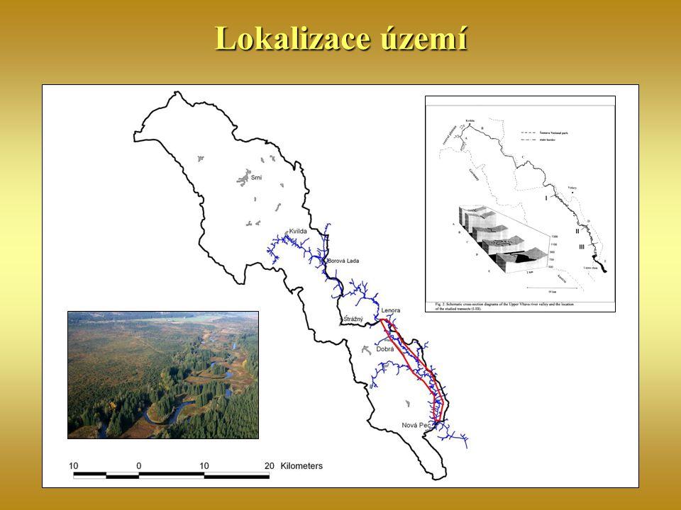 Lokalizace území