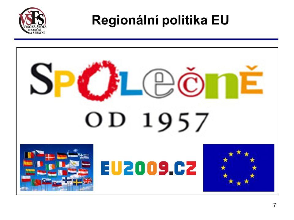 7 Regionální politika EU