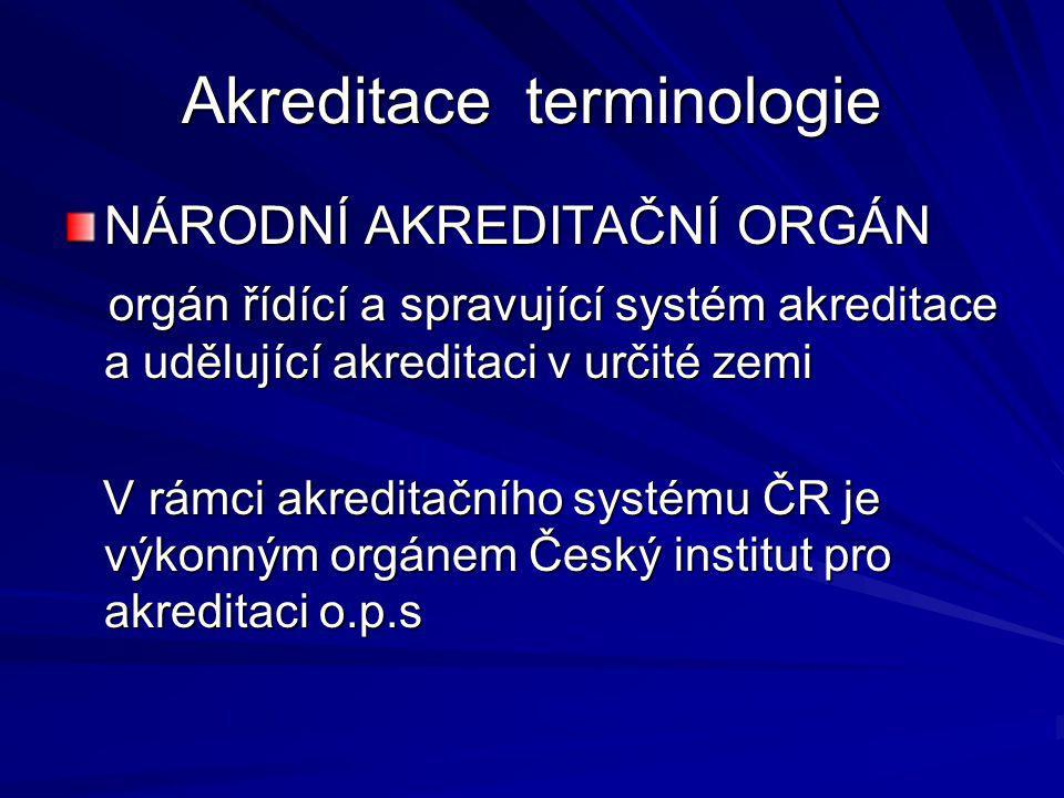 PROCES AKREDITACE 2.registrace žádosti a uzavření obchodní smlouvy 2.