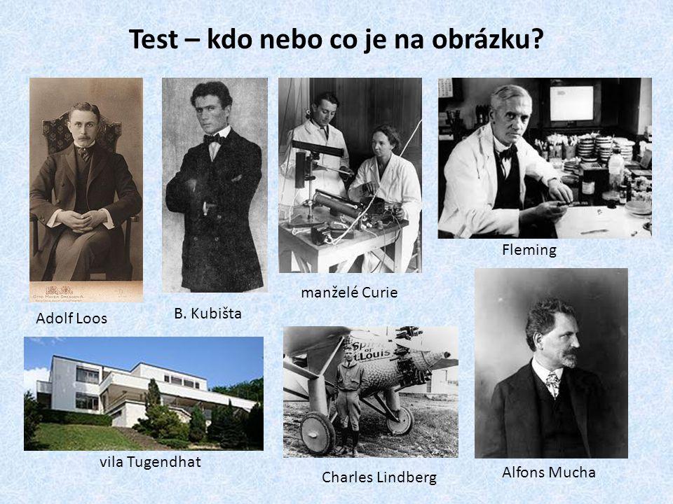 Test – kdo nebo co je na obrázku.Adolf Loos vila Tugendhat B.