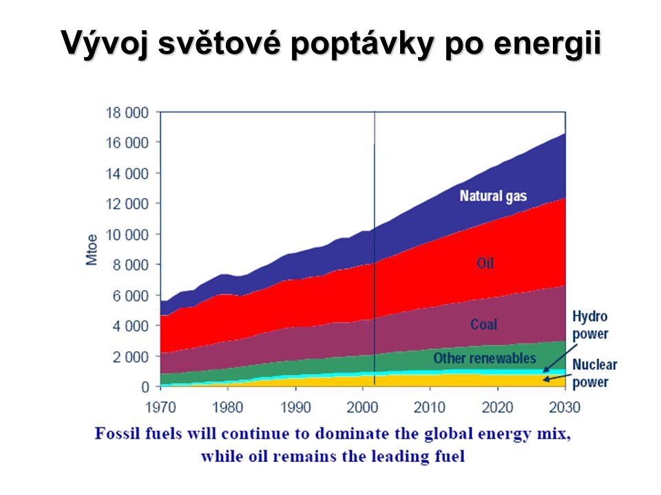 Vývoj světové poptávky po energii