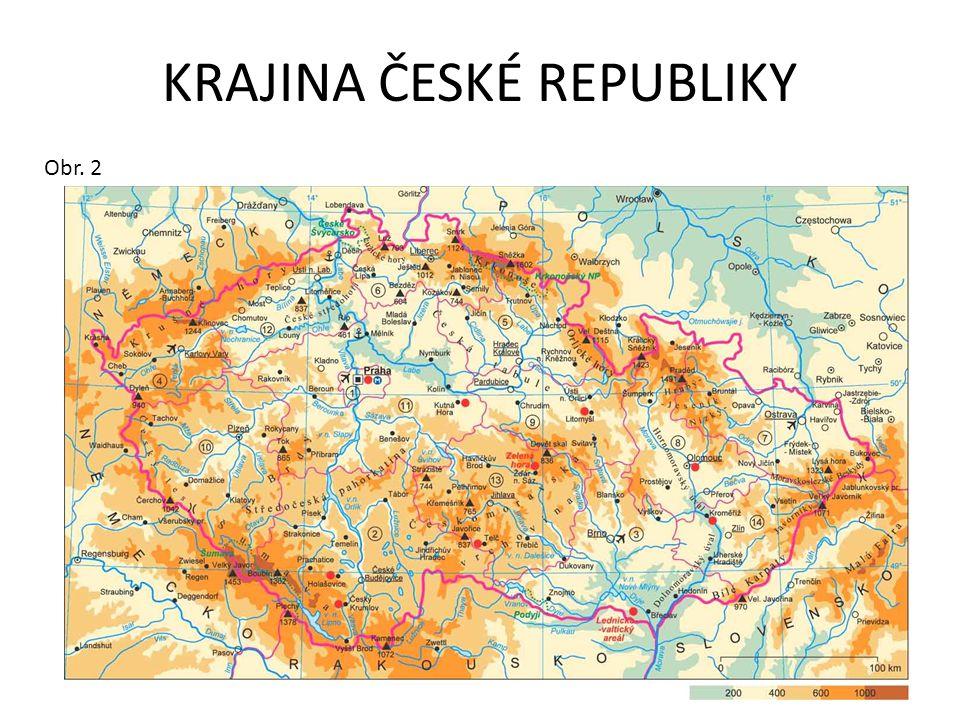 ČESKÁ REPUBLIKA VLAJKA Obr. 3 ÚZEMÍ Obr. 4