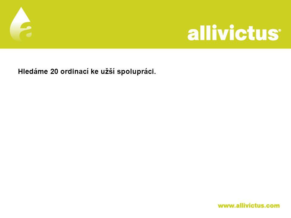 ALLIVICTUS léčivo pro vyvolené Hledáme 20 ordinací ke užší spolupráci.