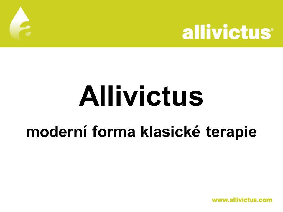 ALLIVICTUS léčivo pro vyvolené Allivictus moderní forma klasické terapie