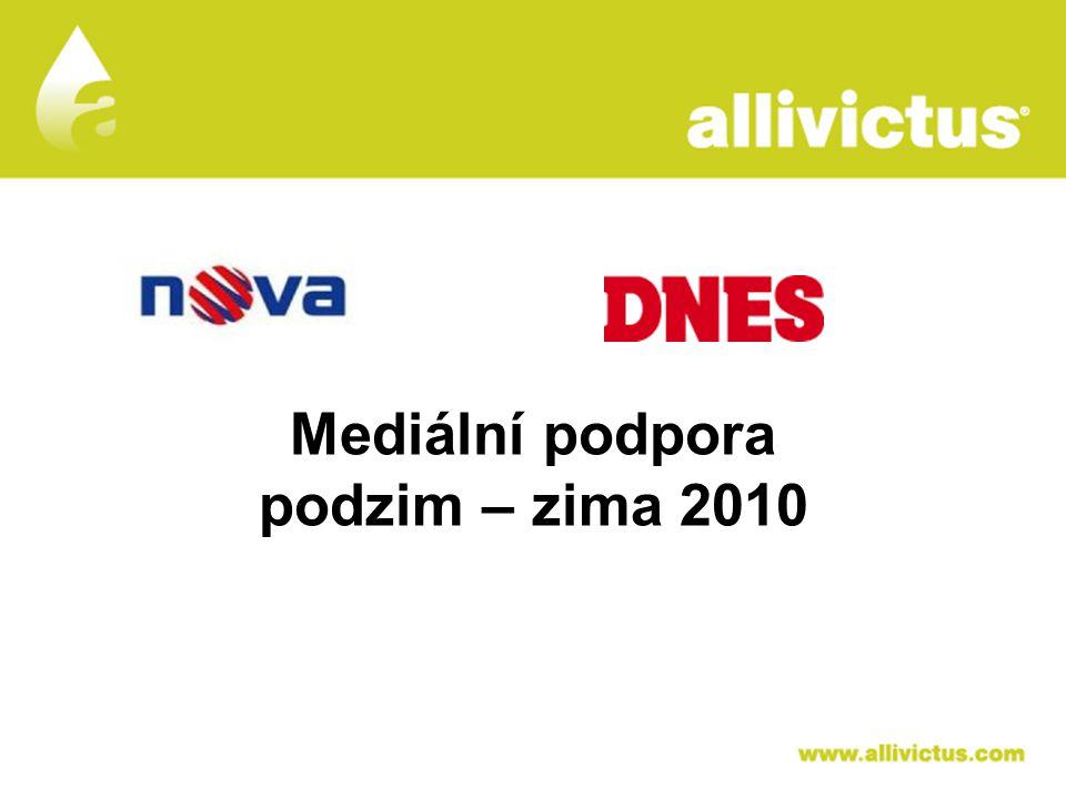 ALLIVICTUS léčivo pro vyvolené Mediální podpora podzim – zima 2010