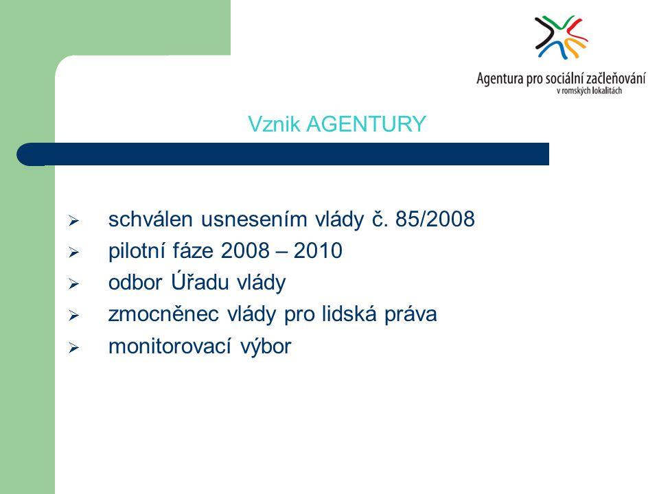 Agentura pro sociální začleňování v romských lokalitách DĚKUJI ZA POZORNOST Martin ŠIMÁČEK simacek.martin@vlada.cz +420 777 787 974