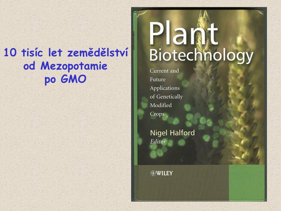 10 tisíc let zemědělství od Mezopotamie po GMO