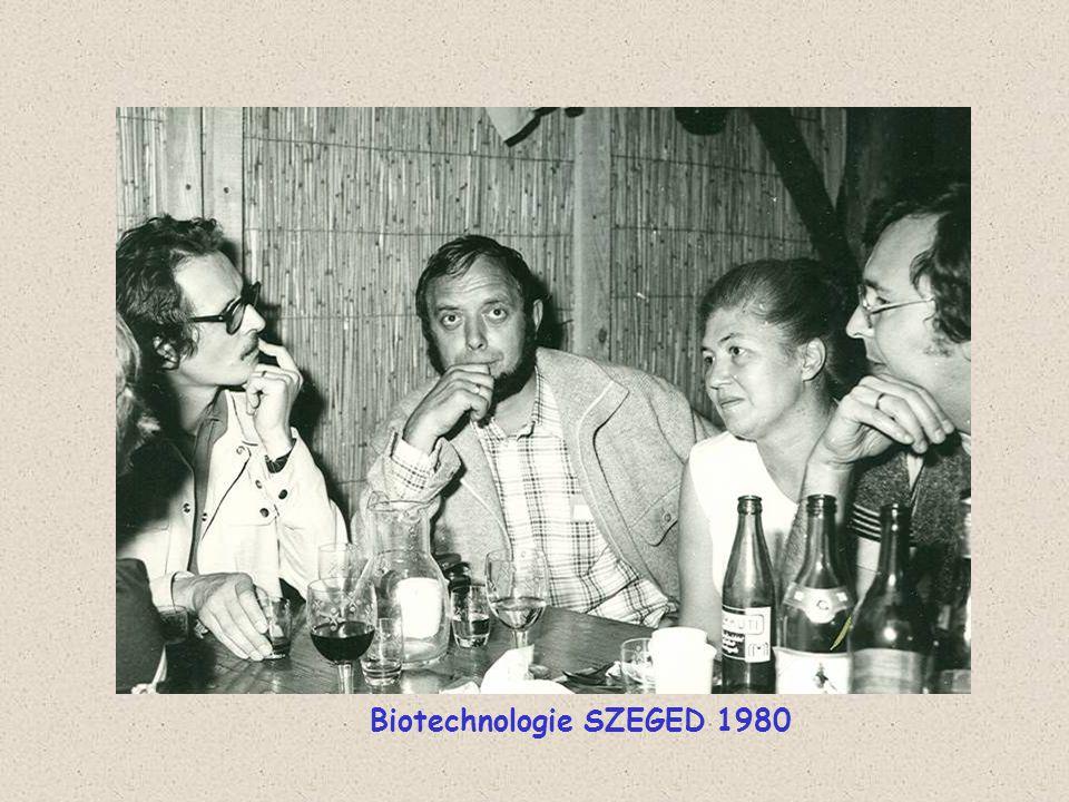 Biotechnologie SZEGED 1980