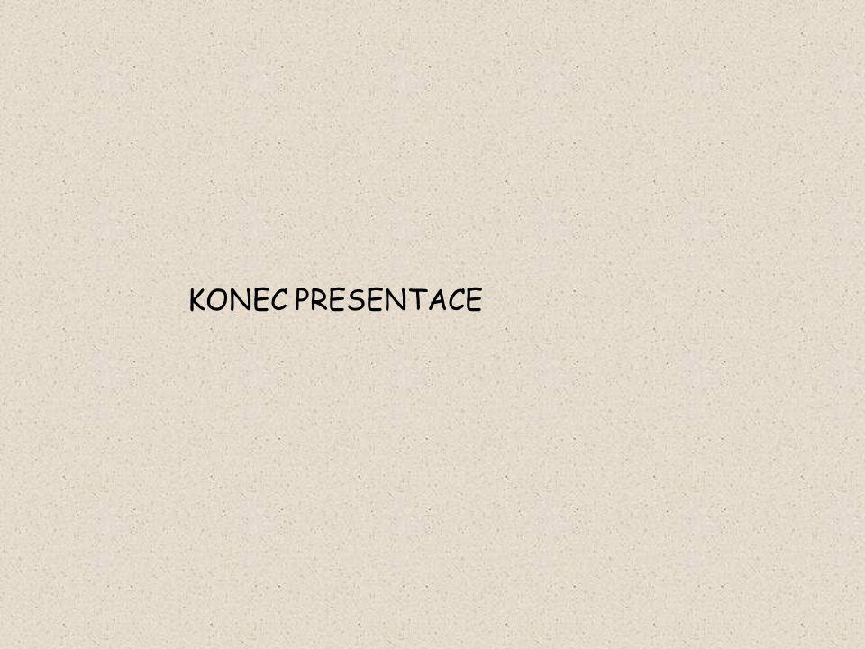 KONEC PRESENTACE