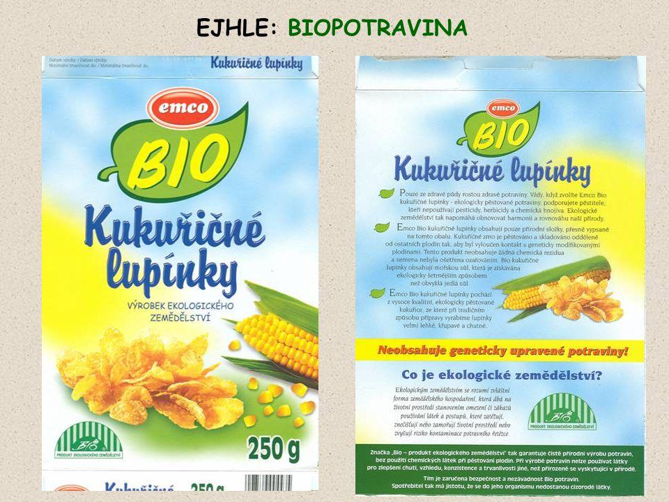 """""""Tradičně vyrobeno bez geneticky modifikovaných přísad.. !!!! No, řekněte – nekupte to …JA !!"""