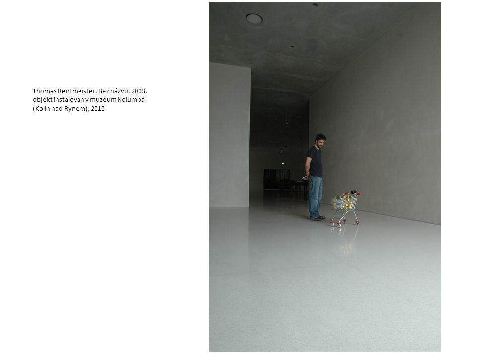 Thomas Rentmeister, Bez názvu, 2003, objekt instalován v muzeum Kolumba (Kolín nad Rýnem), 2010