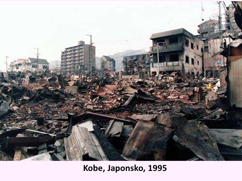 Kobe, Japonsko, 1995