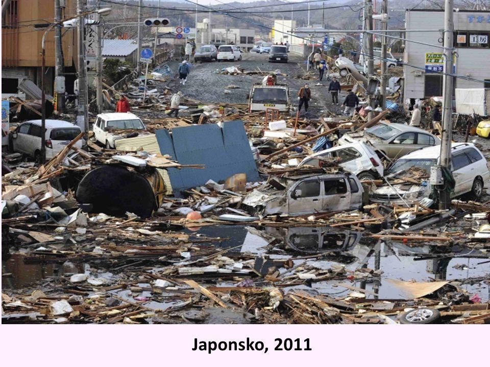 Japonsko, 2011