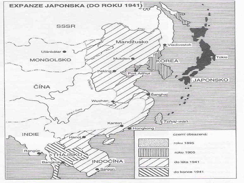 Historie Reformy Meidži  zrušen feudalismus,převzaty západní instituce,západní právní říd a vláda  přerodReformy Meidži  zrušen feudalismus,převzaty západní instituce,západní právní říd a vláda  přerod Japonska do moderní světové mocnosti 1894-1895: Čínsko-Japonská válka1894-1895: Čínsko-Japonská válka 1904-1905: Rusko-Japonská válka  zisk Tchajwanu a Sachalinu1904-1905: Rusko-Japonská válka  zisk Tchajwanu a Sachalinu 1937-1945:2.