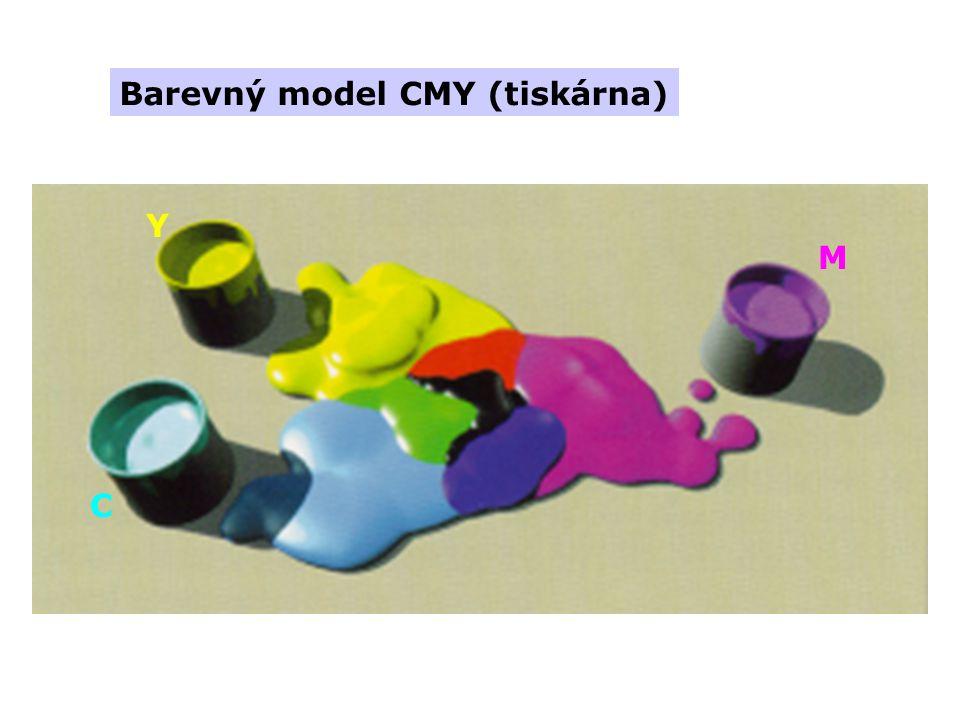 Barevný model CMY (tiskárna) Y M C