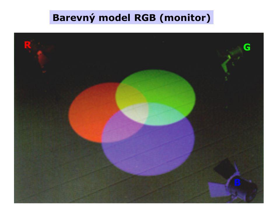 Barevný model RGB (monitor) R G B