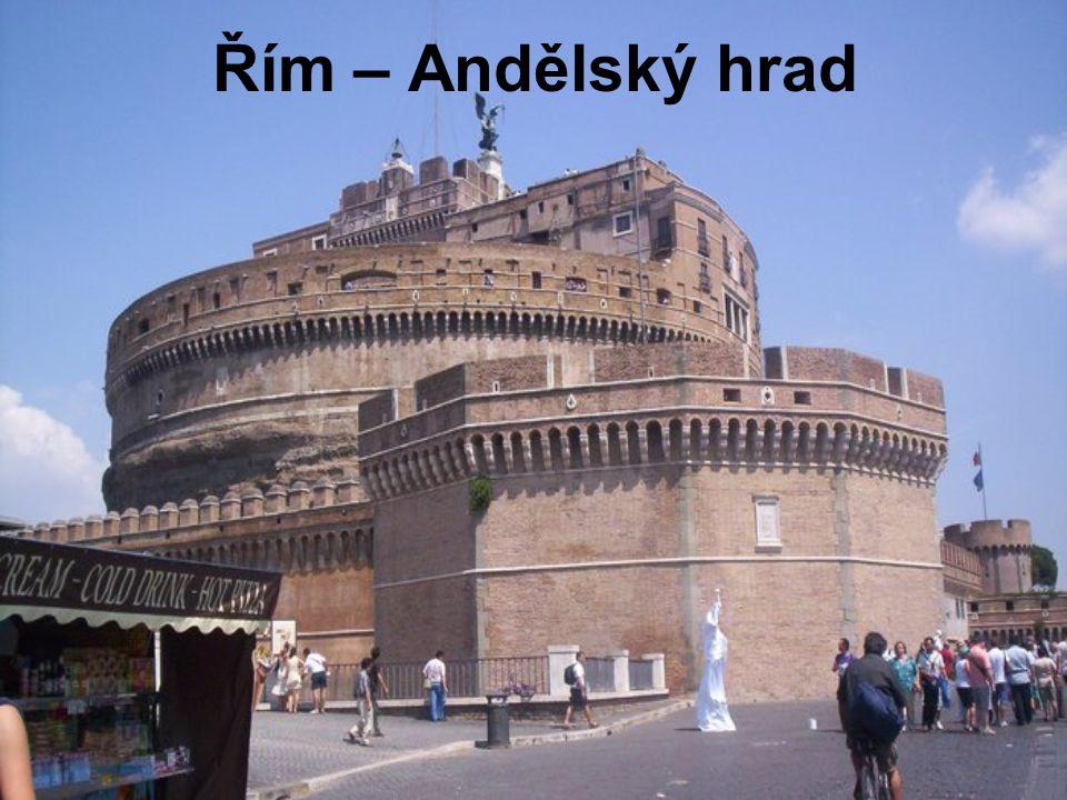 Řím – Andělský hrad